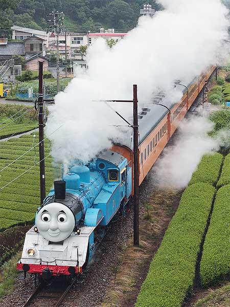 大井川鐵道で「きかんしゃトーマス号」運転