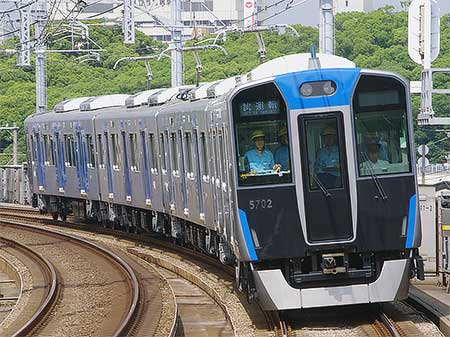 阪神5700系が日中試運転を開始