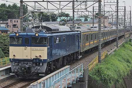 205系ナハ41編成が新津へ配給輸送される