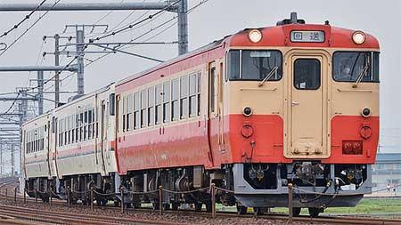 美濃太田車両区のキハ40形・キハ48形の3両が伊勢車両区へ