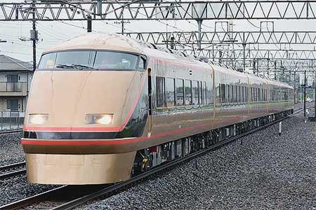 東武鉄道100系106編成も「日光詣スペーシア」となって出場試運転