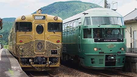 「或る列車」が久大本線で試運転