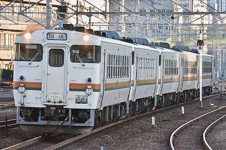 美濃太田車両区のキハ40・キハ48形の5両が笠寺へ