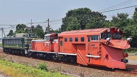 もと富山地域鉄道部所属のDD16 304が向日町(操)へ