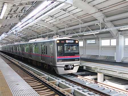 京成押上線 押上—八広間の下り線が高架に