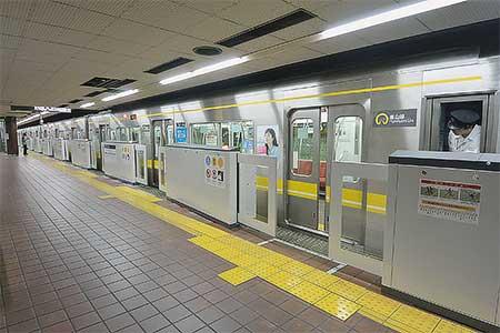 名古屋市交通局東山線で可動式ホームの運用開始