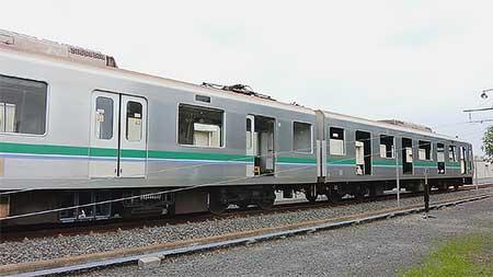 東京メトロ06系の解体が始まる