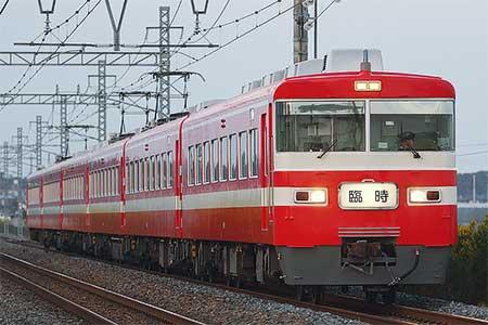 東武日光線臨時快速,1800系で運転