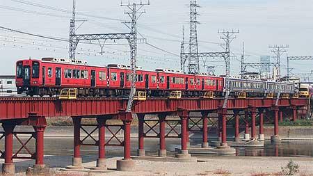 南海高野線で「真田赤備え列車」の運転開始