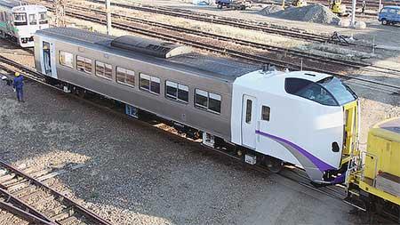 キハ261-1204が塗装変更