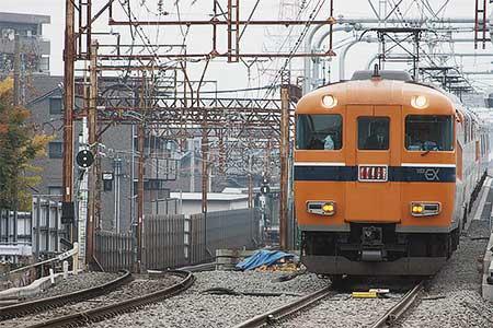 近鉄伏屋駅付近の下り線が高架化される