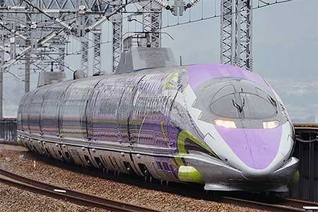 山陽新幹線で「500 TYPE EVA」の運転開始
