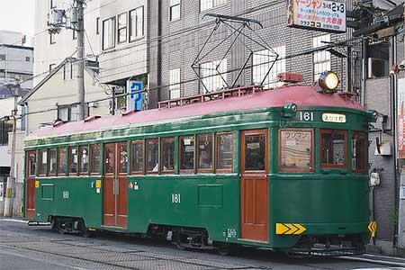 阪堺モ161が再び通常運転に