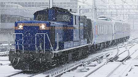 キハ261系1000番台新デザイン車両が出場