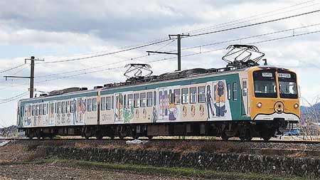 上信電鉄で「ぐんまちゃん列車」運転