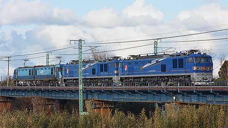 EF510形500番台2両が新潟へ