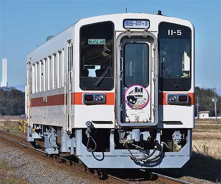 ひたちなか海浜鉄道でキハ11形の営業運転開始