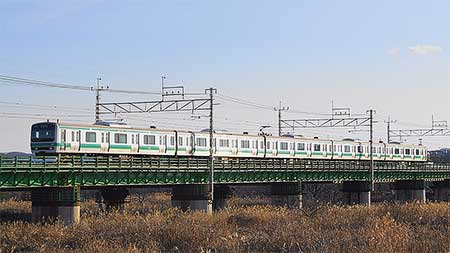 E231系マト128編成が長野総合車両センターから出場