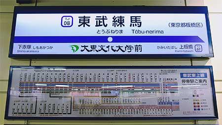 東武鉄道東上本線で副駅名称が導入される
