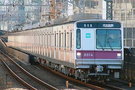 東京メトロ8000系の行先表示器がフルカラーLED化される