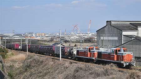衣浦臨海鉄道のKE65が検査を終え出場