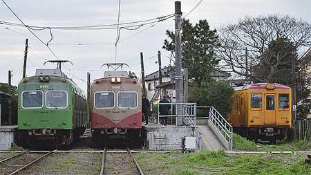 銚子電鉄デハ1001が笠上黒生へ