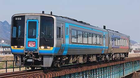 """特急""""うずしお""""の一部列車に2000系が使用される"""
