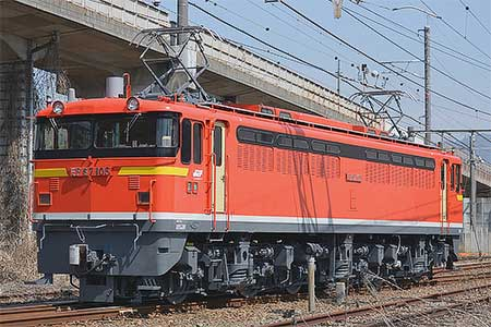 EF67 105が試運転 鉄道ニュース...