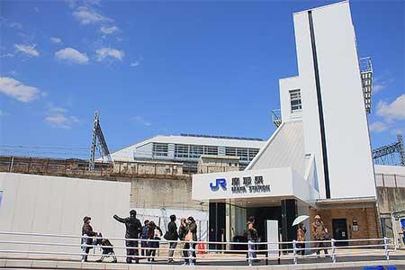 東海道本線の摩耶駅が開業