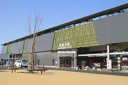 鹿児島本線で西熊本駅が開業