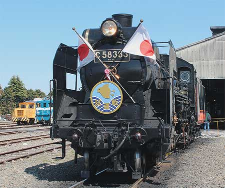 秩父鉄道で『SL2016オープニング見学会』開催