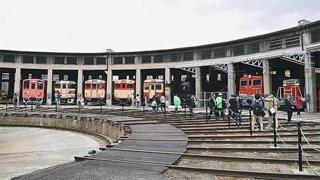 「津山まなびの鉄道館」オープン