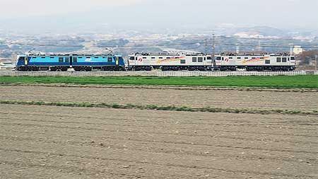 EF510-509+EF510-510が富山へ