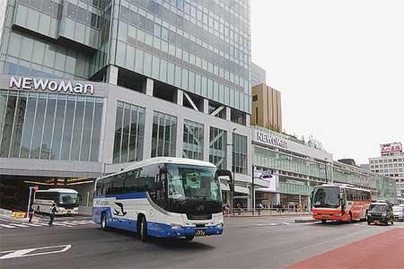 新宿高速バスターミナル「バスタ新宿」が開業