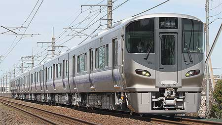 225系5100番台の6両固定編成が登場