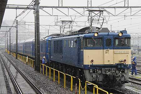 24系客車8両が長野へ