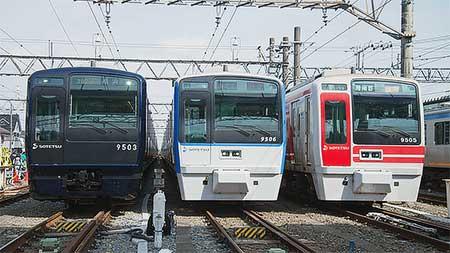 相鉄『9000系リニューアル車両デビュー記念撮影会in相模大塚』開催