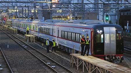 名鉄2200系・3150系増備車が回送される