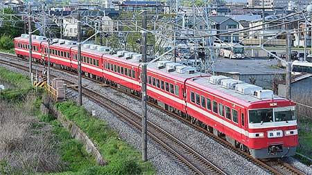 東武鉄道1800系1819編成による日光線臨時快速列車運転
