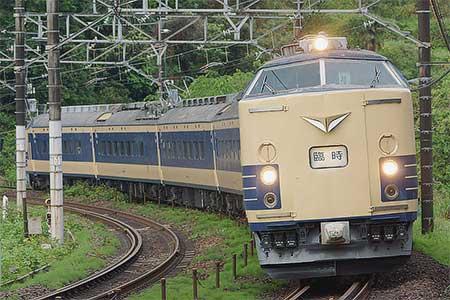 団体臨時列車「ニコニコ超会議号」,583系で運転