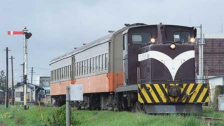 津軽鉄道で「ストーブ列車」用客車による臨時列車運転