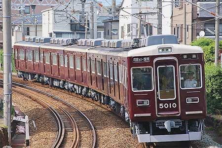 阪急5010編成が6連化,今津線の運用に充当される