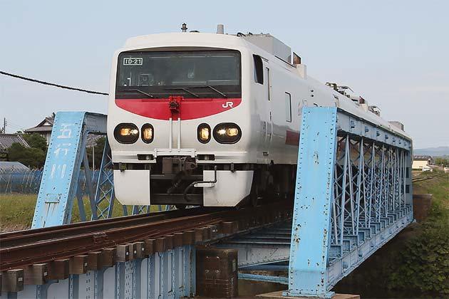「East i-D」が真岡鐵道に入線