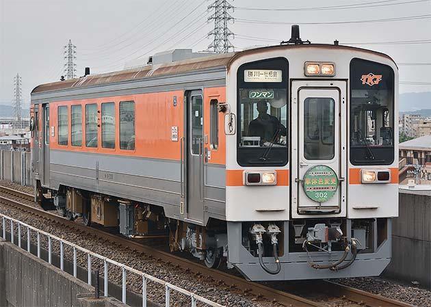 キハ11-302の車体色が変更される