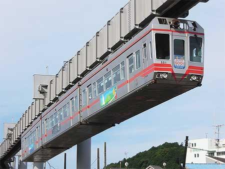 湘南モノレール500形が引退