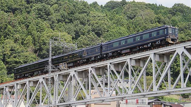 近鉄16200系「青の交響曲(シンフォニー)」が南大阪・吉野線全区間で試運転