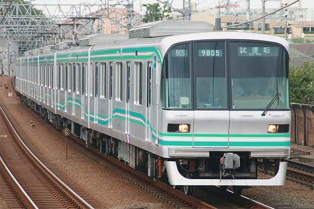 東京メトロ9000系リニューアル車が試運転