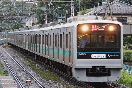 小田急で「いきもの電車〜超いきものばかりミュージアム〜」運転