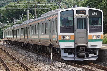 上越線・吾妻線で211系の運転開始