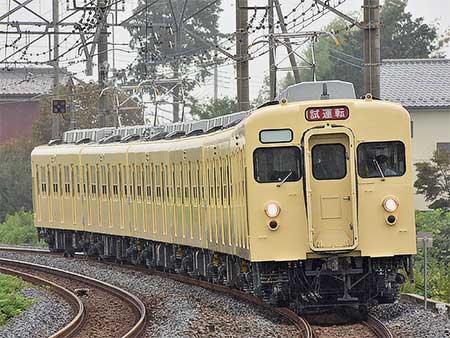 東武鉄道8000系8111編成がセイジクリーム色となって出場試運転